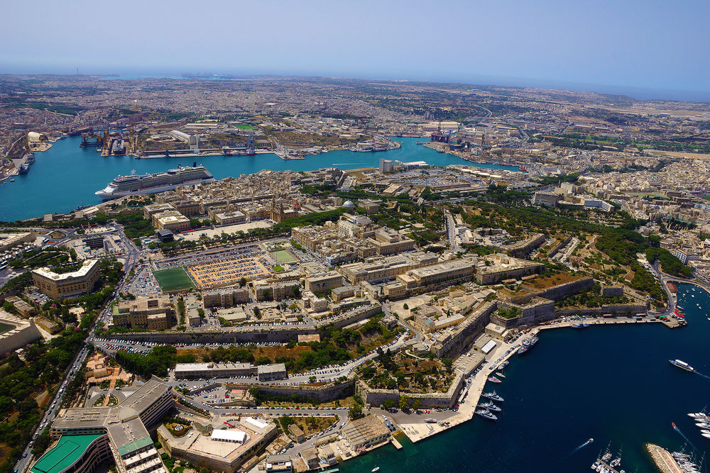 The sights of Valletta