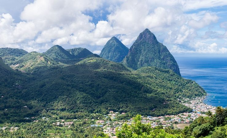 """The Pitons"""