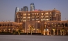Emirates Palace Hotel And City Skyline
