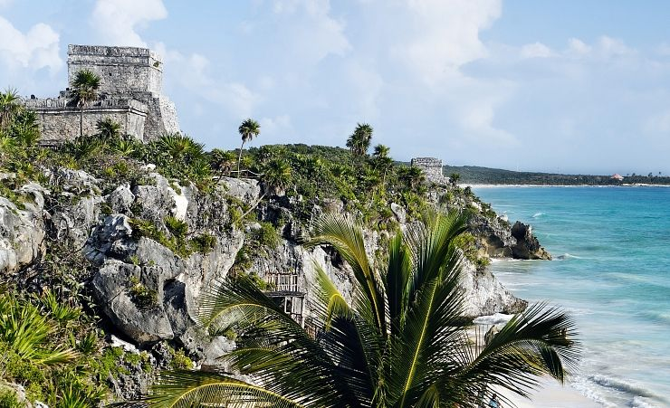 """Mayan Archeologic Site Of Tulum"""