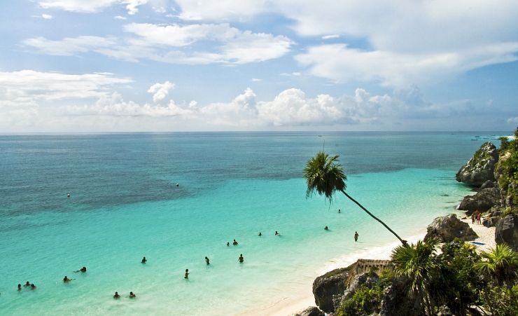 """Tulum Ruins And Beach"""