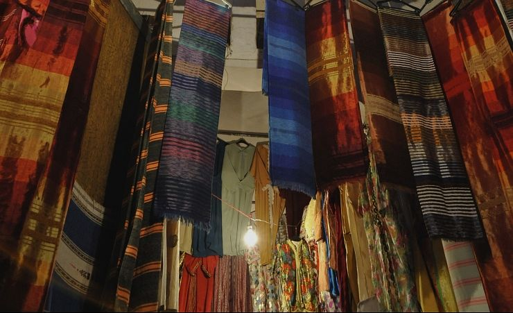 """Fabric In The Old Town"""