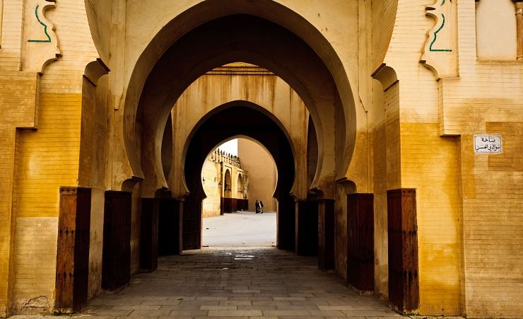 """Moorish Arches Of  A Mosque"""