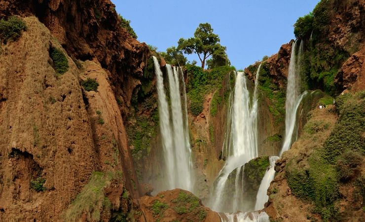 """Ouzoud Waterfall High Atlas Mountains"""