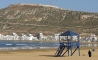 Beach In The Bay Of Agadir