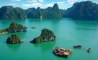 Over Halong Bay