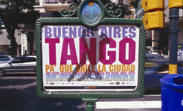 """Sign for Tango Show"""