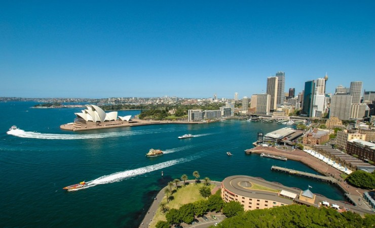 """Sydney Harbour Skyline"""