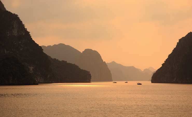 """Halong Bay at Sunrise"""
