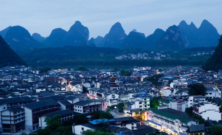 """Yangshuo City"""