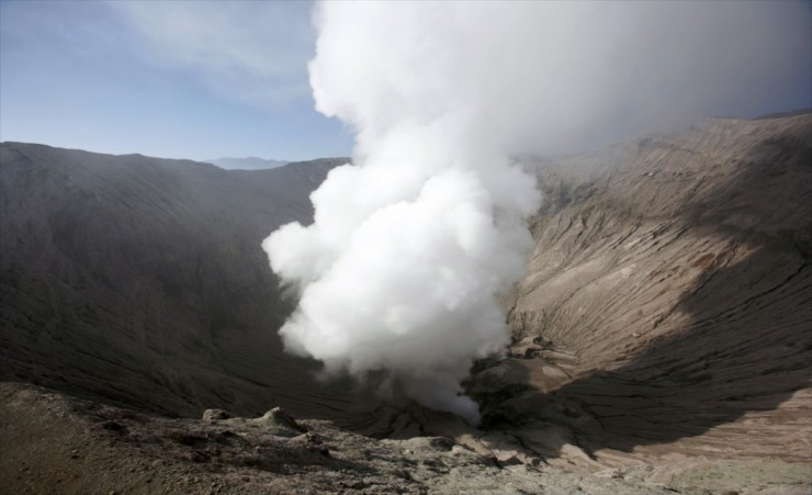 """Mount Bromo Crater"""