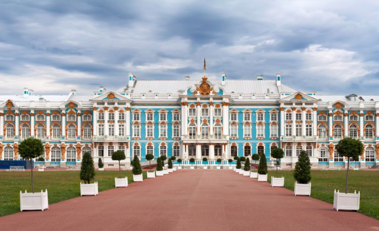 """Catherine Palace In Tsarskoye Selo"""