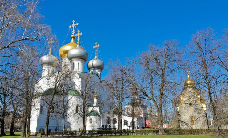 """Novodevichy Convent In Moscow"""