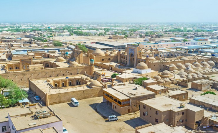 """Aerial View Of The Khiva"""