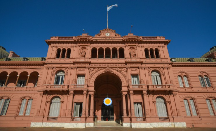 """Casa Rosada Government Palace In Buenos Aires"""