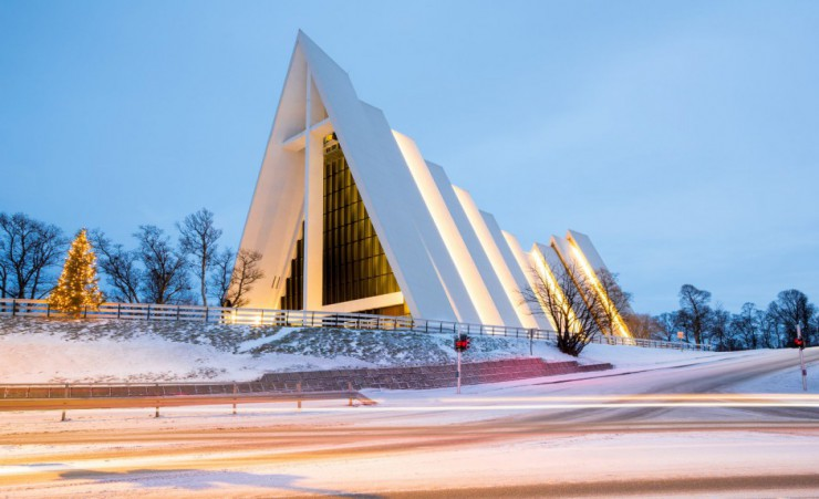 """Arctic Cathedral Tromso"""