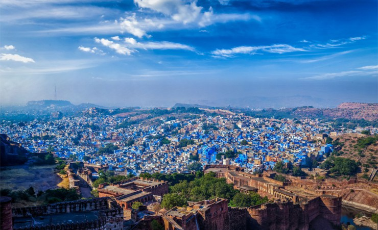 """The Blue City Of Jodhpur"""