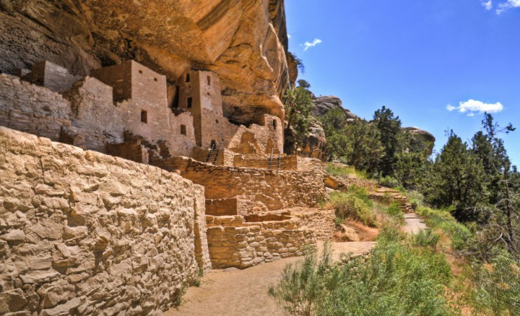 """Cliff Dwellings Mesa Verde National Park"""