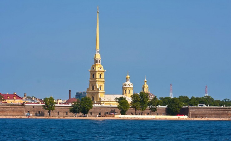 """Peter And Paul Fortress In Saint Petersburg"""