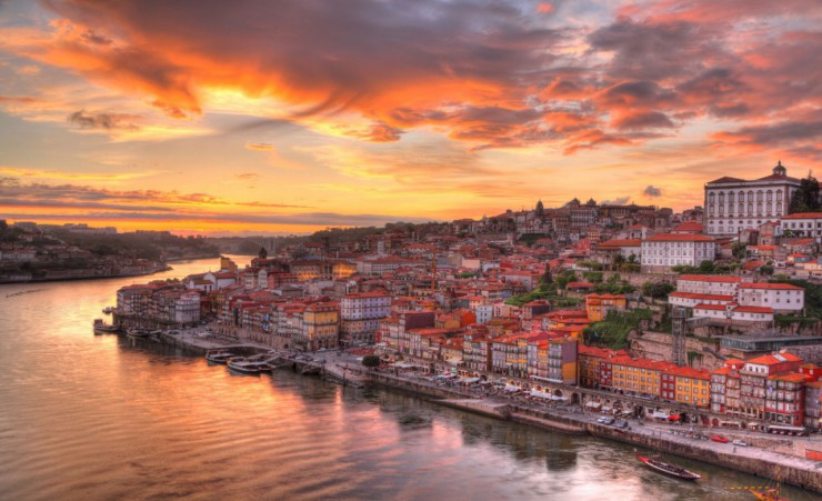 """Sunset Over Porto"""