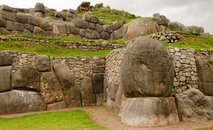 """Boulders At Sacsayhuaman"""