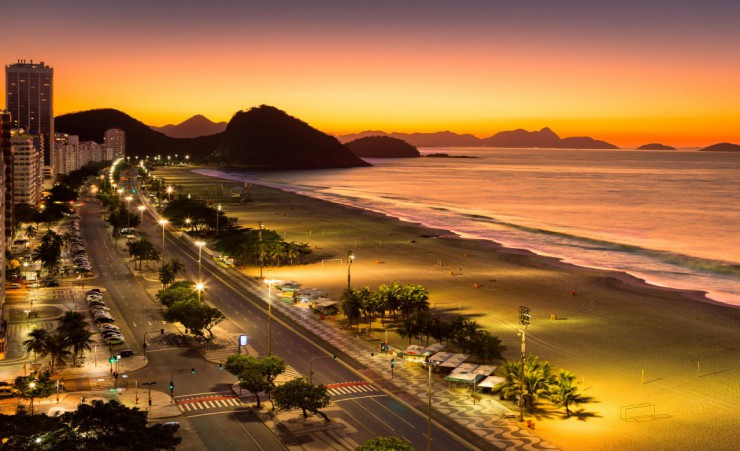 """Copacabana At Sunset"""