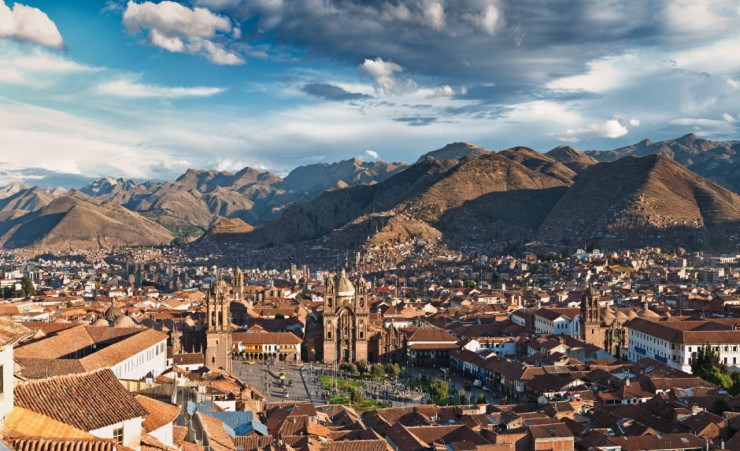 """Cusco Aerial Shot"""