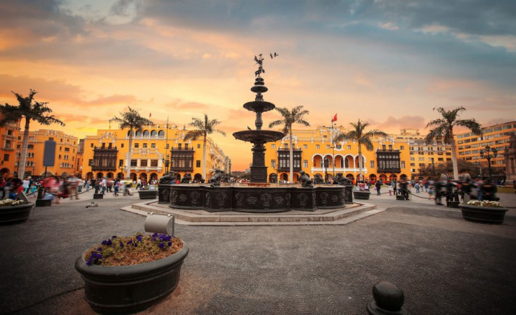 """Plaza Mayor   Lima"""