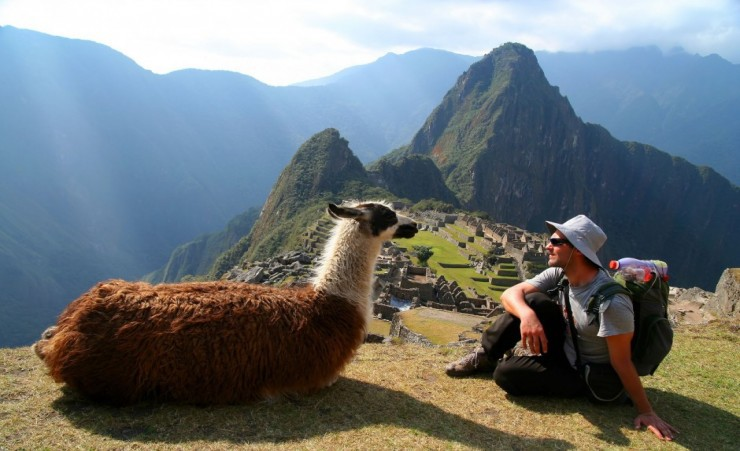 """Looking Over Machu Picchu"""