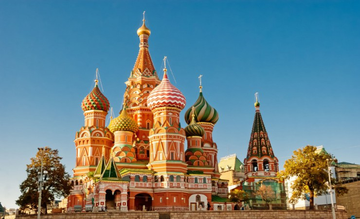 """St Basil Cathedral"""