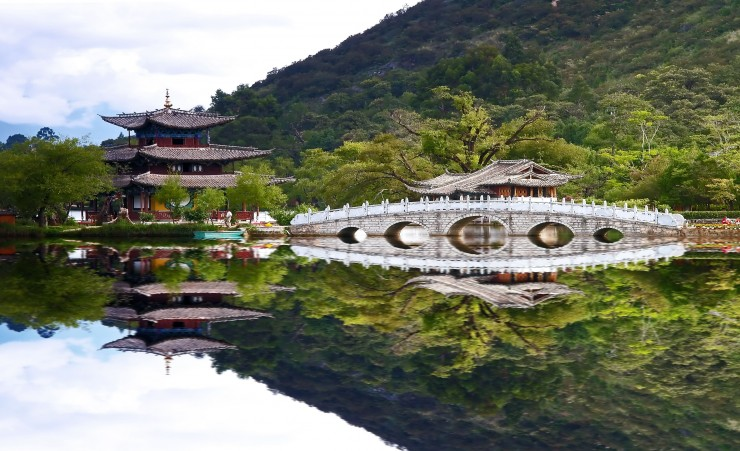 """Scenery Park in Lijiang"""