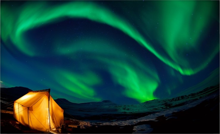 """The Northern Lights"""