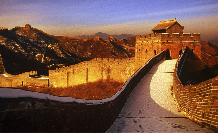 """Great Wall Sunset"""