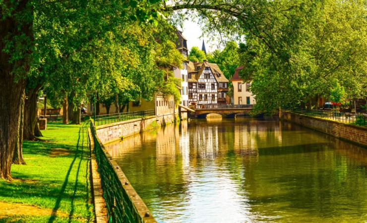 """Water Canals Of Strasbourg"""