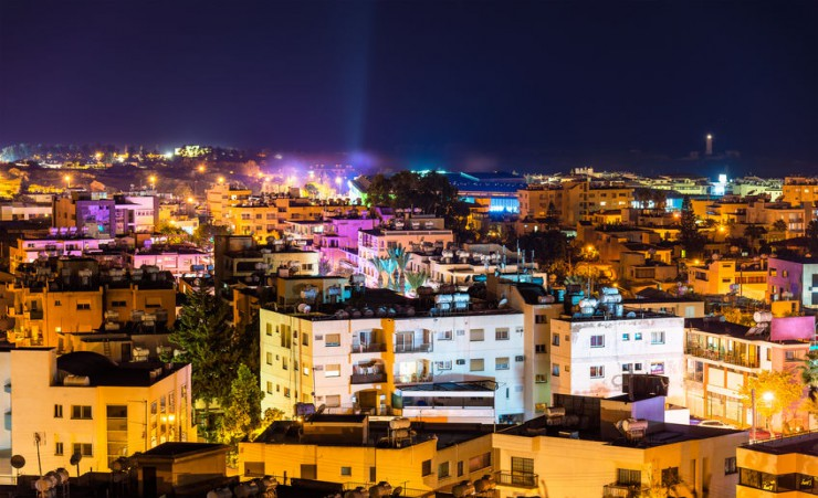 """Paphos At Night"""