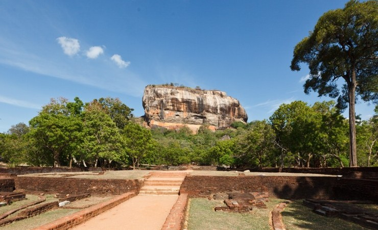 """Sigiriya Rock Fortress"""
