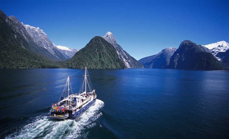 """Milford Sound Fiordland National Park"""