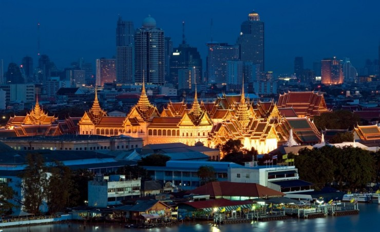 """Grand Palace Bangkok At Twilight"""