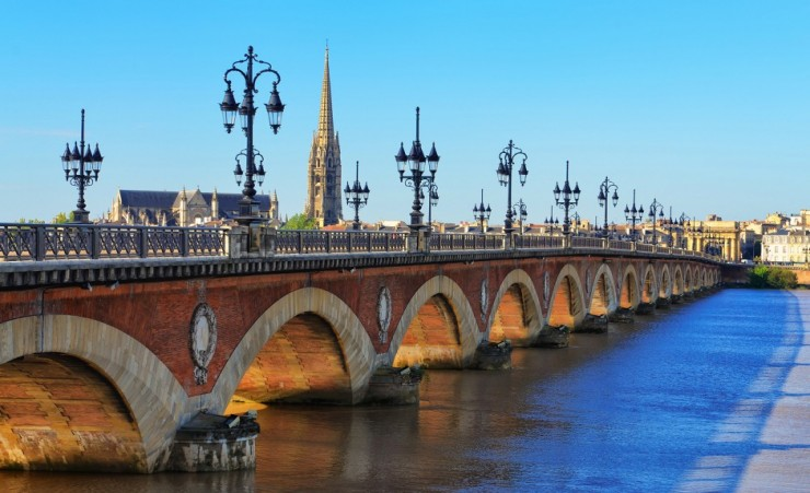 """Bordeaux River Bridge"""