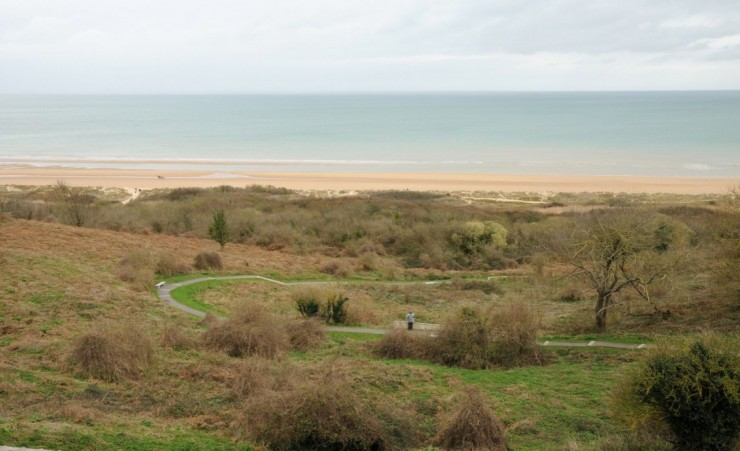 """Omaha Beach In Colleville Sur Mer"""