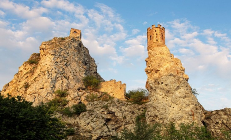 """Ruins Of Castle Devin Slovakia"""