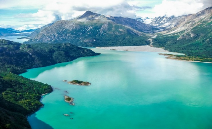 """A View Over Glacier Bay National Park"""