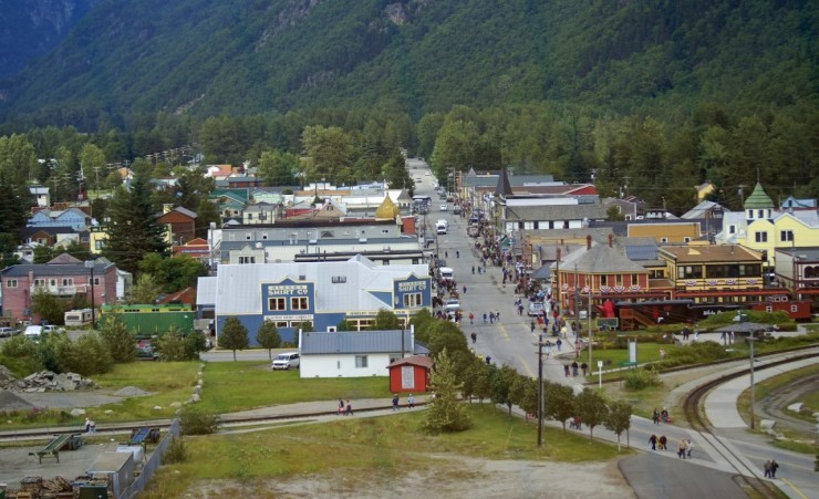 """View Over Skagway"""