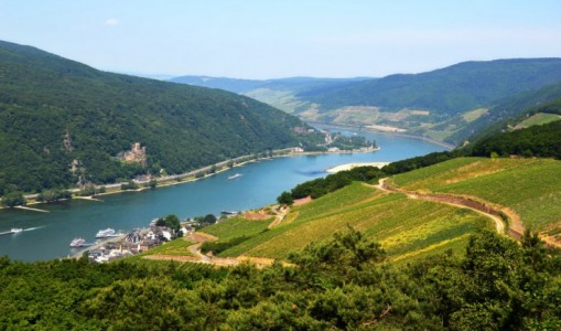 Picturesque Holland and the scenic Rhine