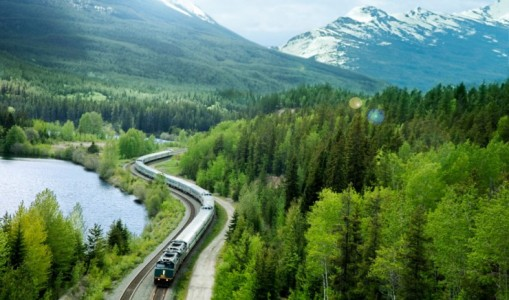 Coast to Coast Canada by Rail