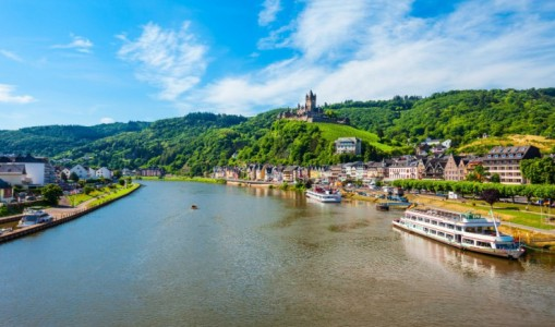 Captivating Rhine Moselle and Main Rivers