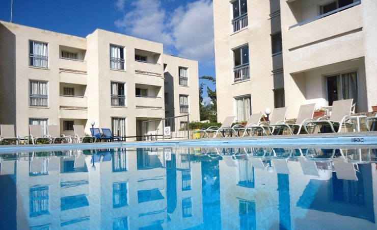 Pool And Apartments
