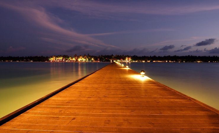 Jetty At Dusk