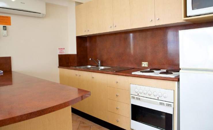 1 Bed Apartment Kitchen 2