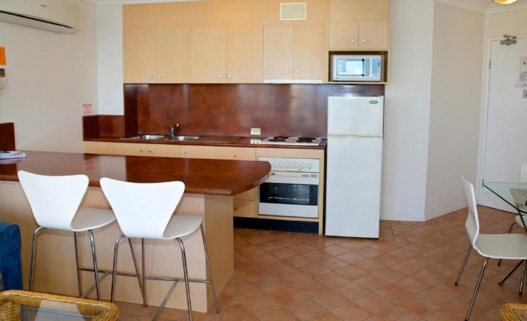 1 Bed Apartment Kitchen 3